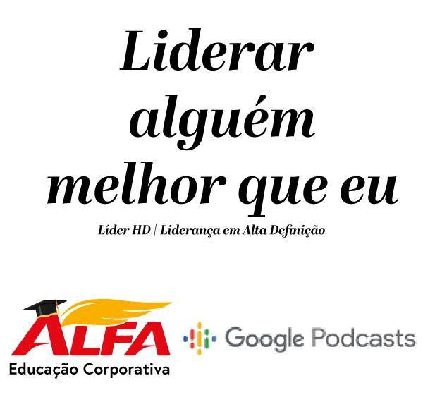 Capa podcast liderança