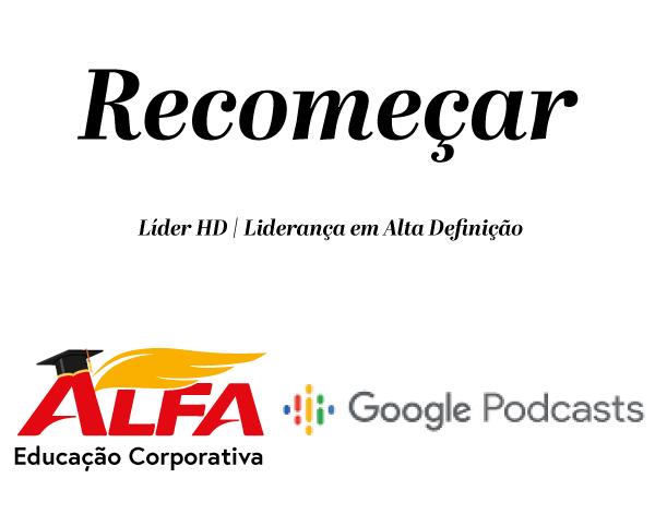 Capa podcast recomeçar
